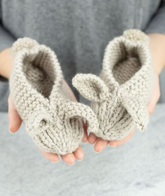 Ravelry: Family Bunny Slippers pattern by Churchmouse ...