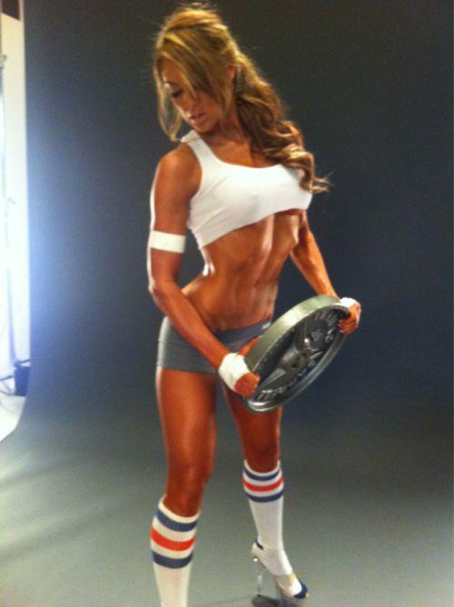 Iconic Fitness Model & Athlete Miss Prestin's 12 Best Pics Ever!