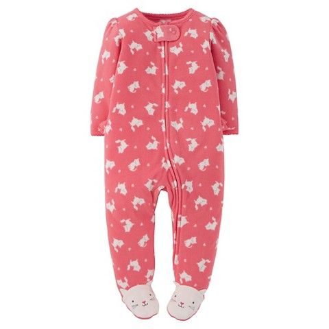 Just One You™ Made By Carter's® Newborn Girls' Footed Sleeper - Pink
