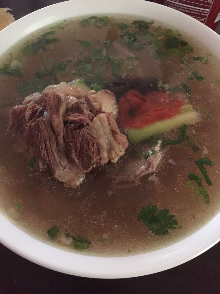 Oxtail Pho Instant Pot