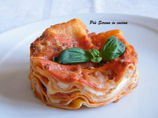 Lasagne al forno - Più Serena in cucina