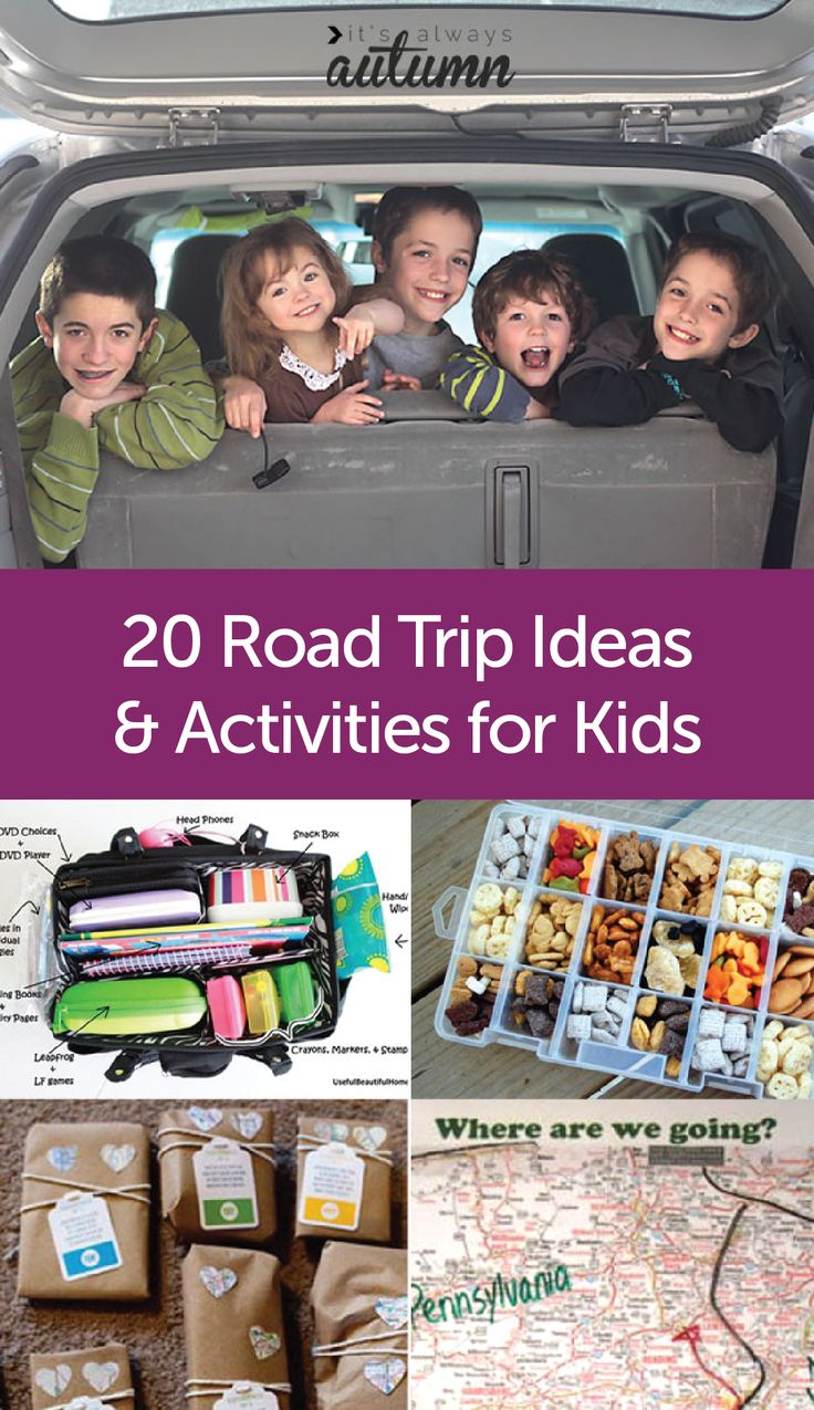 There's nothing like a long journey in the car to bring a family together. Keep the kids entertained on your next road trip with these fun activities! And don't worry about leaks—Poise* Impressa* Bladder Supports can be worn up to 8 hours each day to keep you worry-free while on the road.