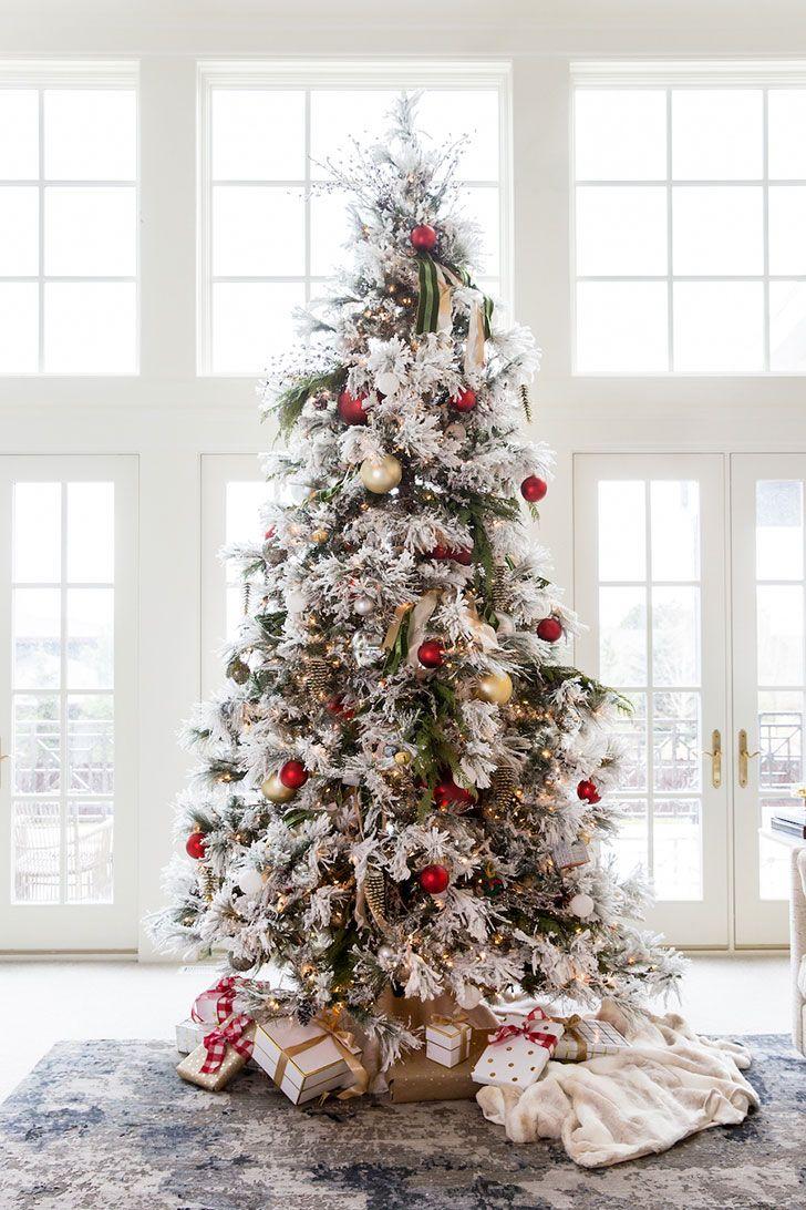 Волшебный праздничный декор в одном американском доме | Пуфик - блог о дизайне интерьера