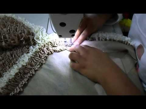 Mais uma pequena amostra para quem quer aprender a fazer tapetes fru-fru manual