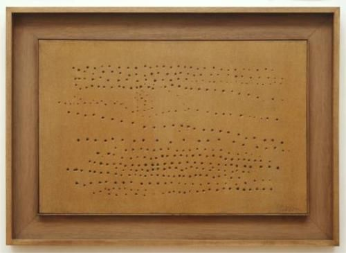 Concept Spatiale 1949-1950 - Lucio Fontana