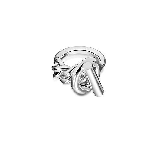 Hermès : Croisette  Bague en argent  #ring #silver #hermes