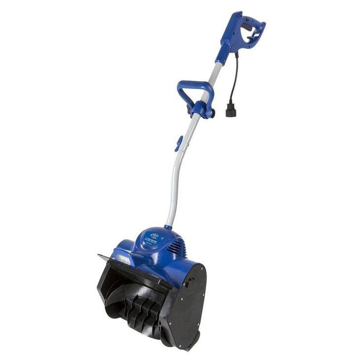 Snow Joe Plus 11 Inch 10 Amp Electric Snow Shovel with Light, Blue