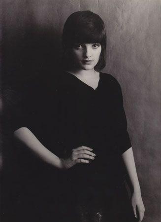 nina hagen 1975 // b photo // black and white photograph