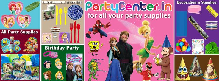 Buy all your party needs supplies in partycenter.in