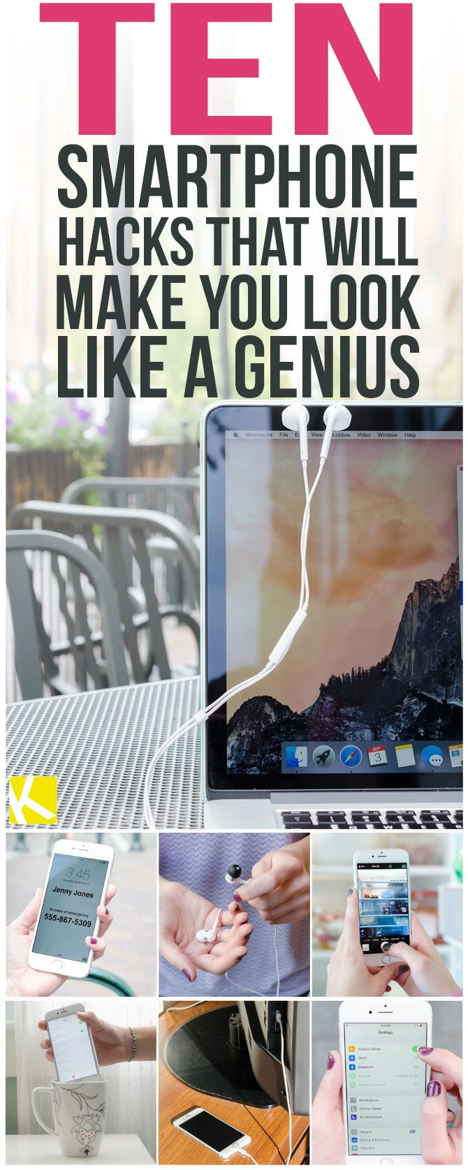 10 Genius Smartphone Hacks That Will Change Your Life - The Krazy Coupon Lady