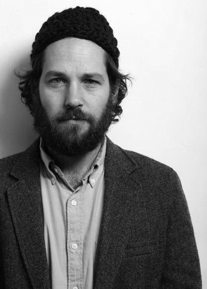 Paul Rudd. Possessing both the ability to grow a full beard AND a fantastic sense of humor. Day-um.