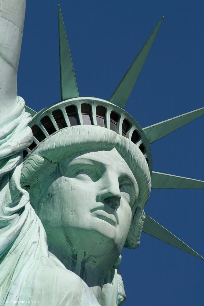 NYC. Statue of Liberty by Carmine La Valle