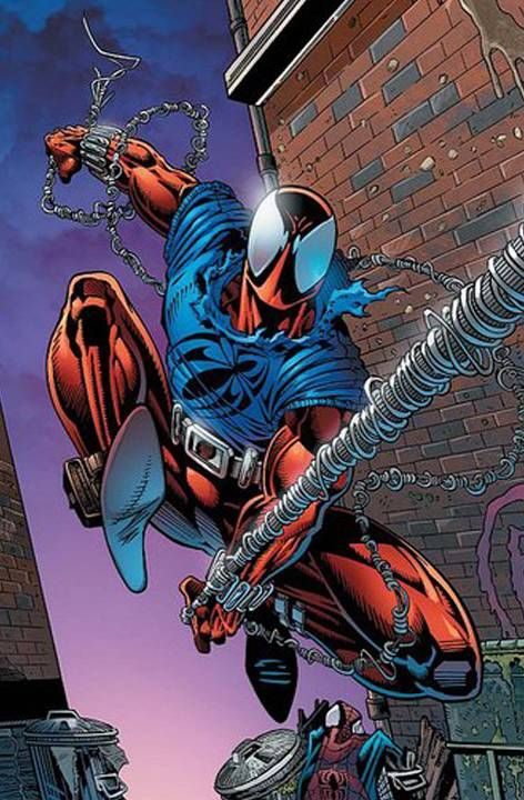 Ben Reilly aka Scarlet Spider