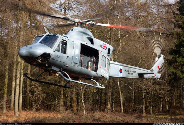 RAF Bell 412EP Griffin HAR2