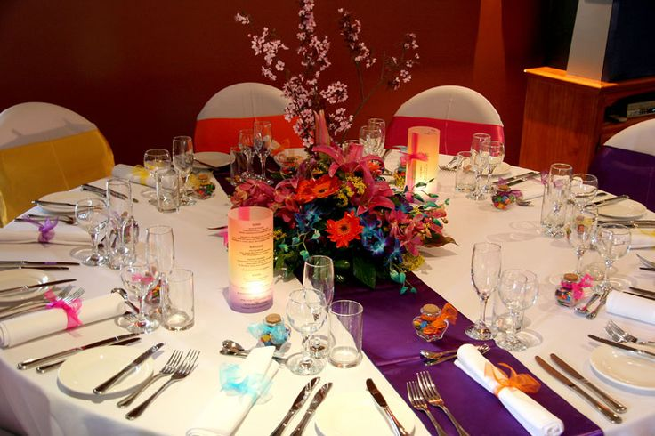Your Wedding Support: GET THE LOOK - Multi Coloured Wedding Theme!