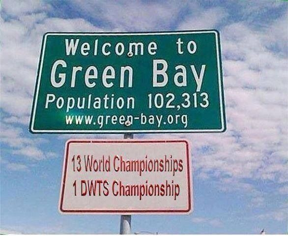 Green Bay Packers-haha!! That's right...Donald Driver!!! :)