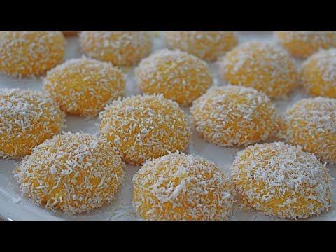 Bu kurabiye bağımlılık yapıyor !! sadece sıvıyağ ile ağızda eriyen harika reçelli kurabiye tarifi - YouTube