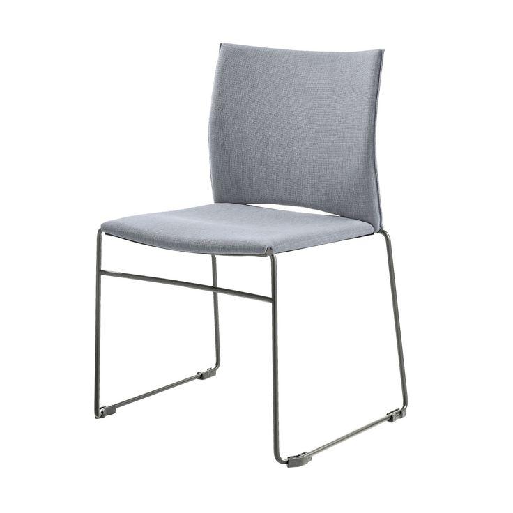 Amazing Web Stuhl hellgrau chrom Jetzt bestellen unter