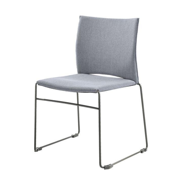 Spectacular Web Stuhl hellgrau chrom Jetzt bestellen unter