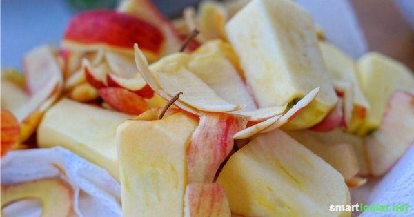 Apfelschalen verarbeiten – viel zu schade für die Mülltonne