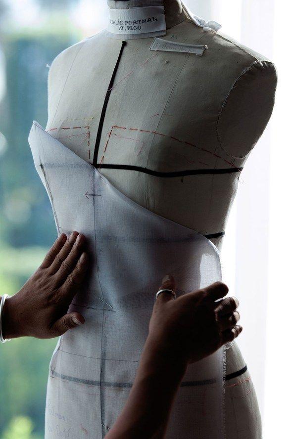 Making Cannes Red Carpet Dresses - Dior for Natalie Portman