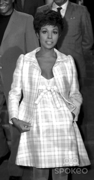 Diahann Carroll at the Bob Hope's Backyard Party, Toluca Lake, CA.