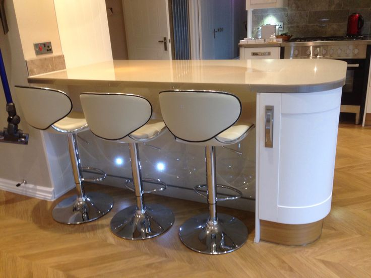 One Of Our Best Sellers, The Carcaso Cream Bar Stool, Looks Great At This.  Cream Bar StoolsKitchen Breakfast ...