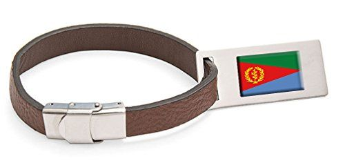Luggage Tags Collections   Eritrea Flag Leather Luggage Tag Steel Engraved Text ** Check out the image by visiting the link. Note:It is Affiliate Link to Amazon.