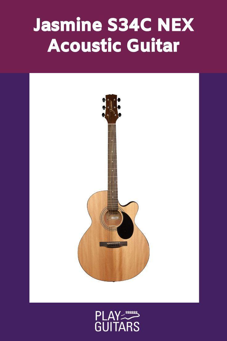 Jasmine S34c Nex Acoustic Guitar Acoustic Guitar Guitar Acoustic