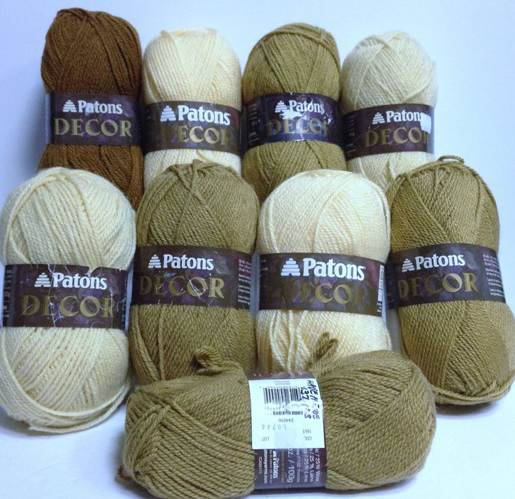 Vintage Wool, Patons Yarn Bundle, Decor Yarn, 9 Pce Bundle, Pale, Rich Bronze & More, Wool Blends, Knitting Yarn, Coordinated Color Group by HeyJudeCollection on Etsy