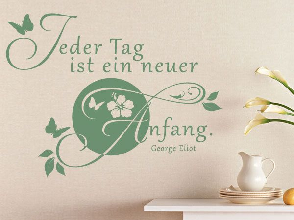 Die besten 25+ Wandaufkleber Zitate Ideen auf Pinterest | Vinyl ...
