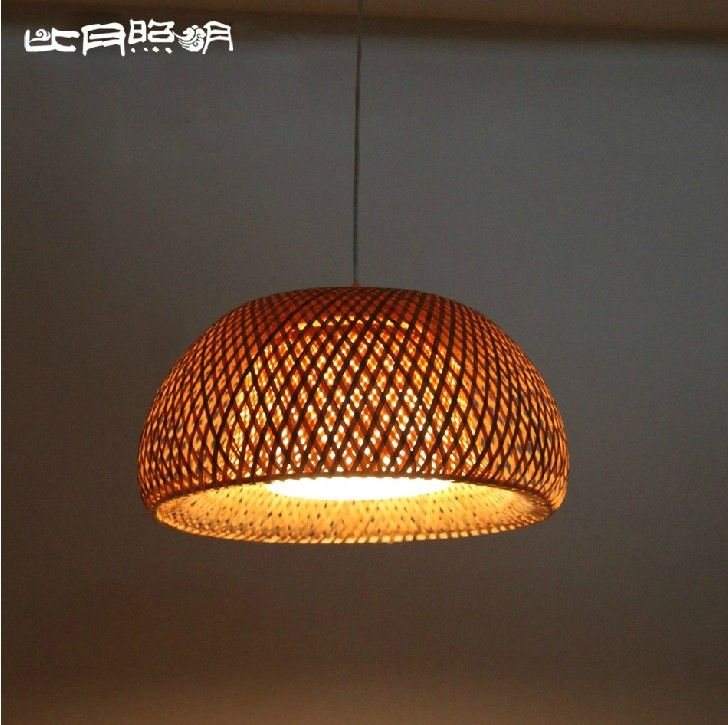 Beautiful  Ratio dated lighting living room modern minimalist Ikea restaurant Southeast Asian bamboo garden lanterns