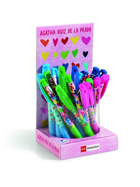 Stay up to date and trendy this school year with an adorable pen to match your Agatha backpack!