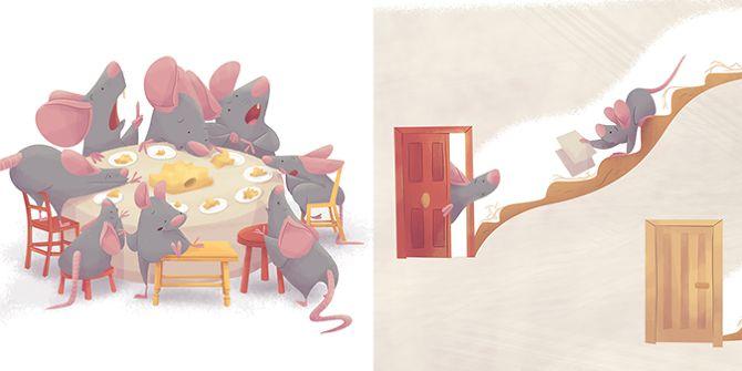 """CHILDREN BOOKS - Ester Garay, ilustradora. """"Basta de reglas"""", escrito por Eva Pinel, para Nice Tales http://www.nicetales.com/ #bastadereglas #basta #reglas #childrenbook #children #book #kids #childrenillustration #ilustración #infantil #ilustracióninfantil #libro #album #ilustrado #ipad #primer #lector #bebe #baby #mice #mouse #ratón #imaginación #reading #lectura #funny #divertido #niños #adventure #aventura #pirate #princess #story #imagination"""