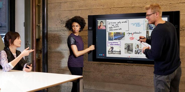 Today might be all about the next chapter in Windows, but there's something for the hardware-heads, too. Specifically the Surface Hub -- which joins Surf