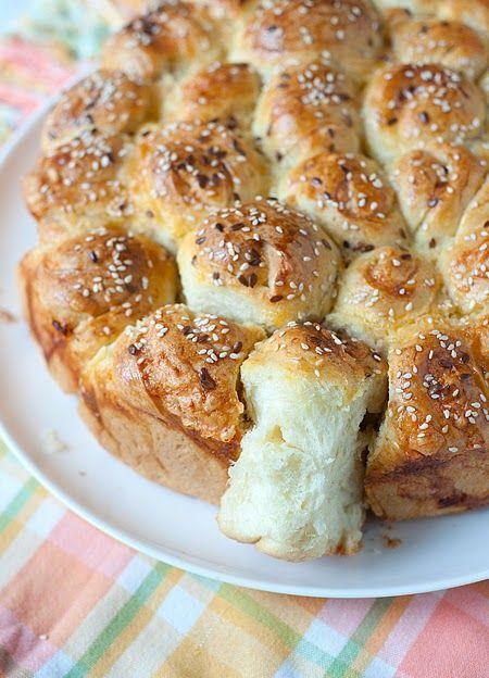Tortellini: Leaf torta s párky v rožku