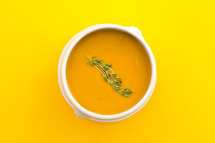 Ginger Curry cold summer soup