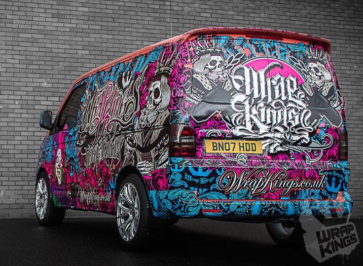 Wrap Kings New Demo Van | Wrap Kings