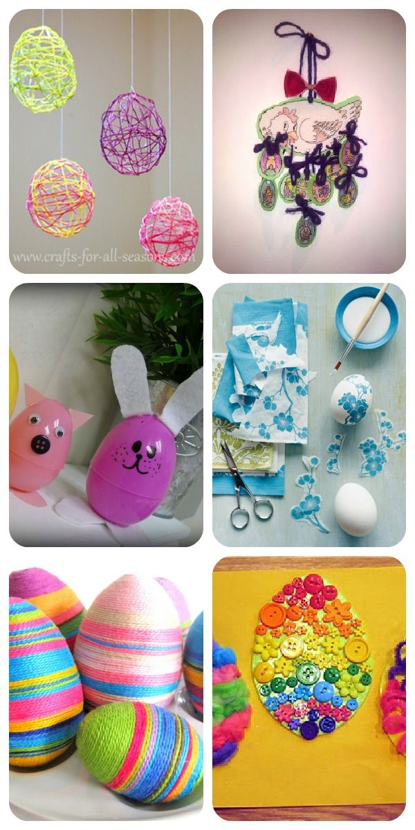 I lavoretti di Pasqua con le uova