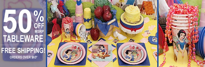 Snow White Party Supplies I almost died, and!? AND?!   they are not over priced!