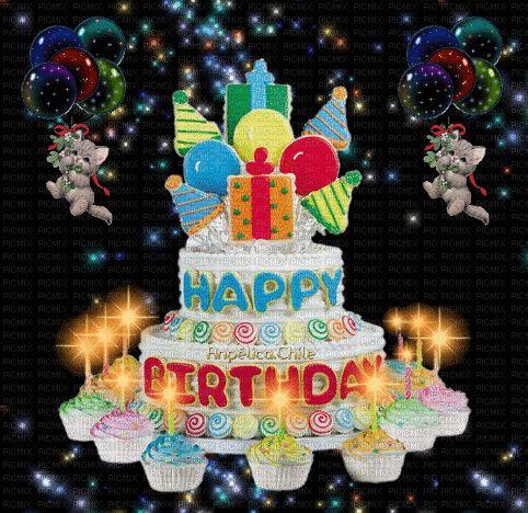 SUEÑOS DE AMOR Y MAGIA: Lindo día y muy feliz Cumpleaños