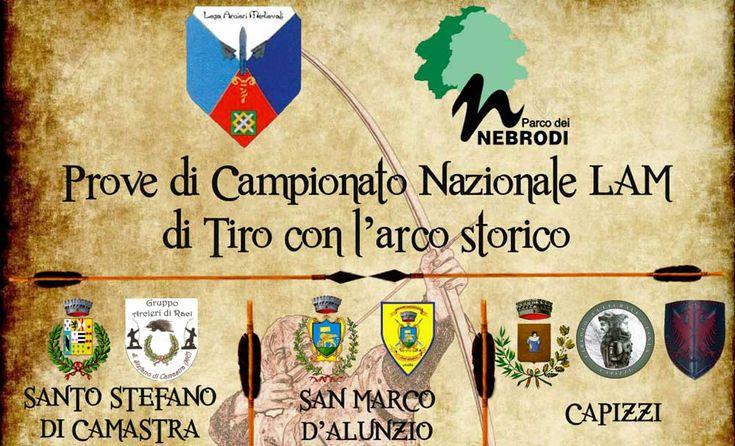 Nel Parco dei Nebrodi le prove di campionato nazionale di tiro con l'arco storico - http://www.canalesicilia.it/nel-parco-dei-nebrodi-le-prove-campionato-nazionale-tiro-larco-storico/ Campionato Nazionale, Parco dei Nebrodi, Tiro con l'Arco