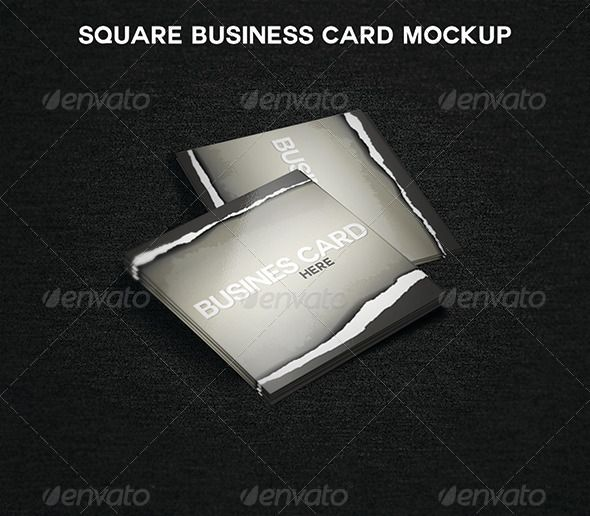 """Square Business Card MockUp  #GraphicRiver         Square Business Card MockUp   Clean and easy to use Business Card Mockup. All you have to do is to """"Edit content"""" and paste your design in smart objects.    300 DPI Smart objects Fully Customizable Easy to use Fully Layered     Created: 27August13 GraphicsFilesIncluded: PhotoshopPSD HighResolution: Yes Layered: Yes MinimumAdobeCSVersion: CS PixelDimensions: 4x4 Tags: business #card #mockup #psd #square"""