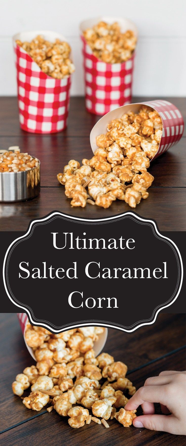 My ultimate caramel corn recipe is exactly what you need to put your family game or movie night over the top! #BornOnTheFarm