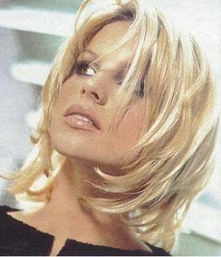 Medium Length Thin Hair | women s medium length hairstyles gallery medium length razor cut view ...