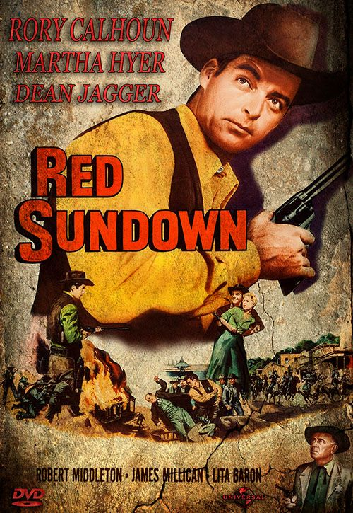Red Sundown (1956) | Dvd Front Cover! | Pinterest | Red
