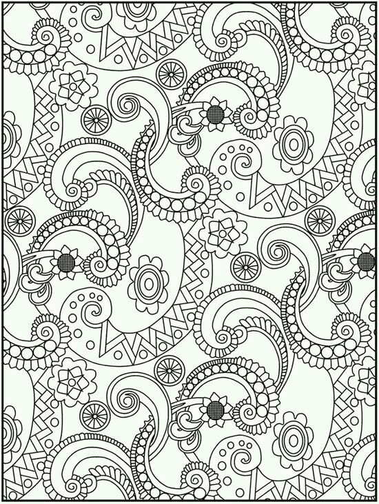 Tie Dye Coloring Pages Best Coloring Page 2017