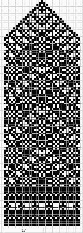 Mustrilaegas: A Kudumine / Knitting fair isle knit chart