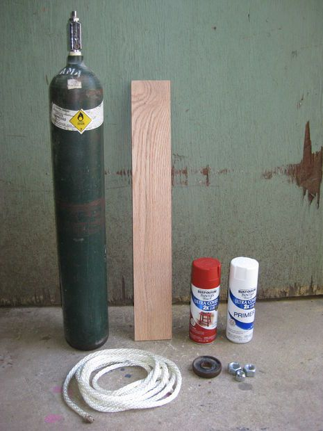 How to Make a Compressed Gas Cylinder Wind Chime by carnyboy