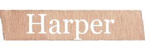 Harper Girls Name